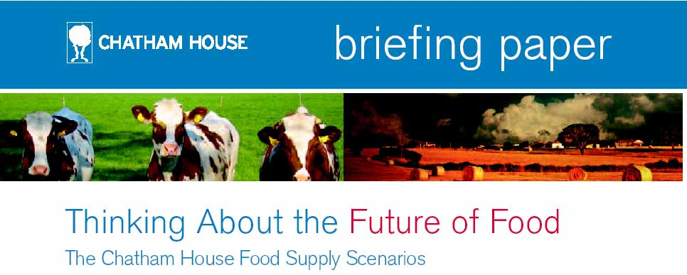 Chatham House Future of Food